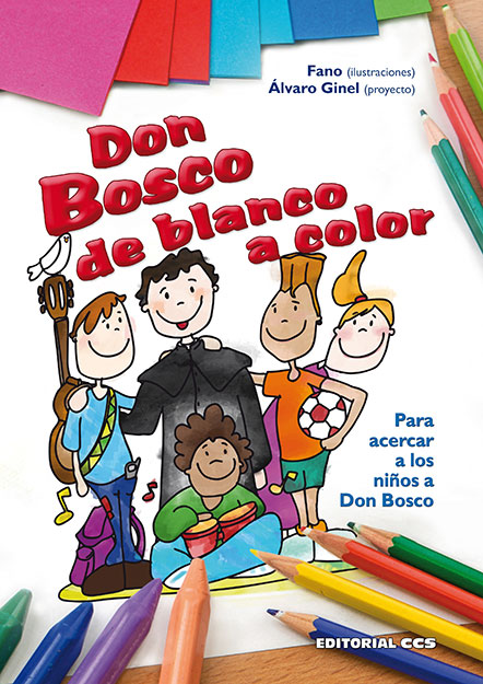 DON BOSCO DE BLANCO A COLOR
