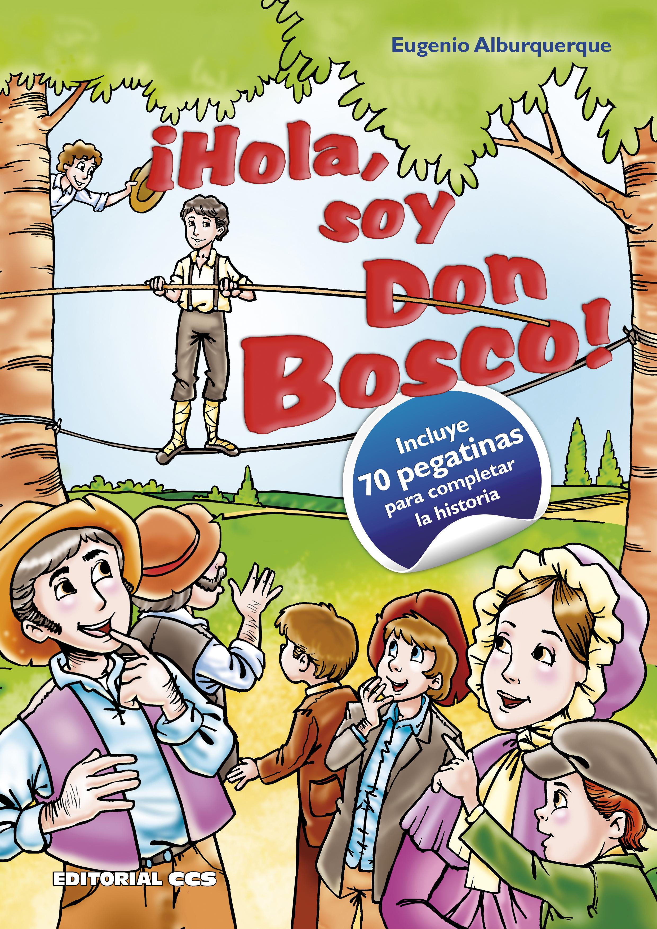 Editorial Ccs Libro Hola Soy Don Bosco